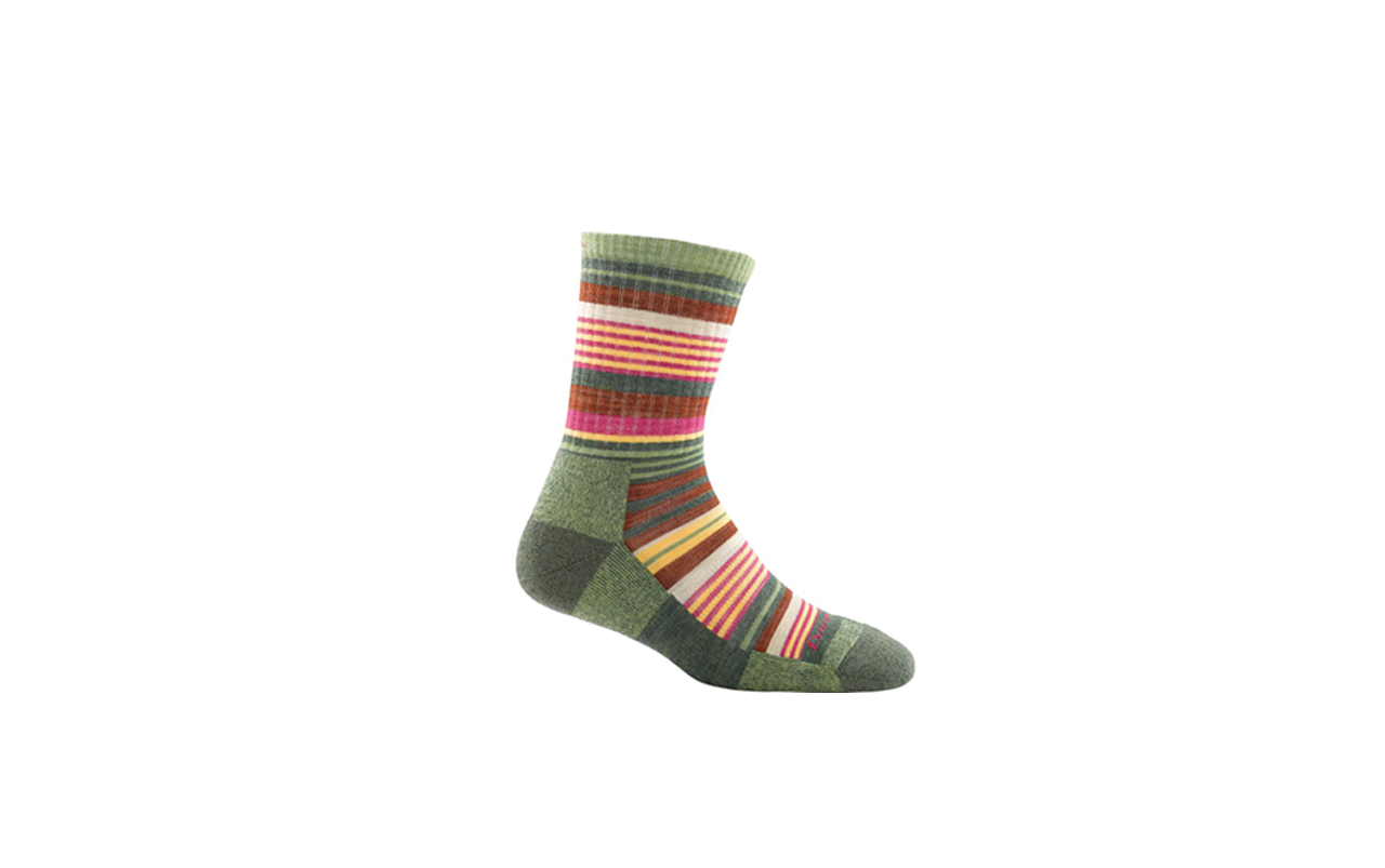 Photo of colorful striped sock