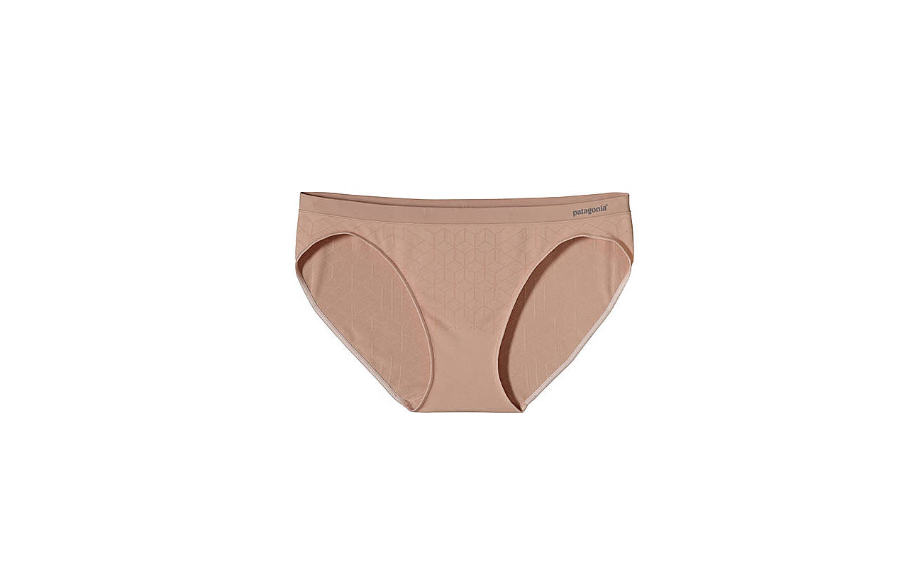 Photo of women's tan bikini underwear